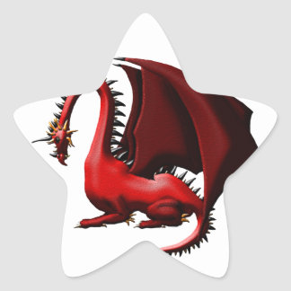 Thorn, the Red Dragon Star Sticker