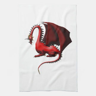 Thorn, the Red Dragon Towel