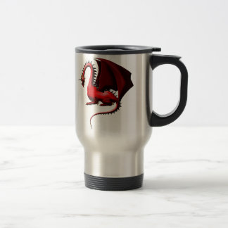 Thorn, the Red Dragon Travel Mug