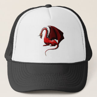 Thorn, the Red Dragon Trucker Hat