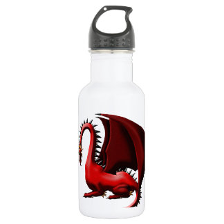Thorn, the Red Dragon Water Bottle