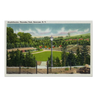 Thornden Park Amphitheatre View Poster