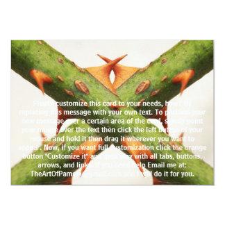 Thorns Cross 5x7 Paper Invitation Card