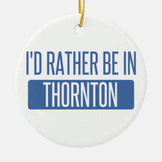 Thornton Ceramic Ornament