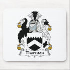 Thornton Family Crest Mouse Pad