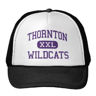 Thornton - gatos monteses - alto - Harvey Illinois Gorros Bordados
