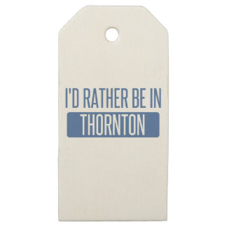 Thornton Wooden Gift Tags