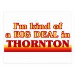 THORNTONaI un poco una GRAN COSA en Thornton Postal
