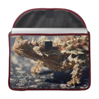"Thorny Devil Lizard, Outback Australia, Photo 15"" Sleeve For MacBook Pro"