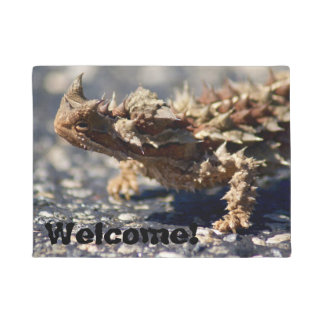 Thorny Devil Lizard, Outback Australia, Photo Doormat