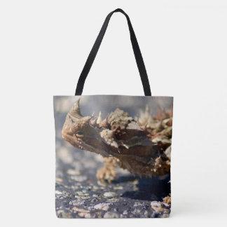 Thorny Devil Lizard, Outback Australia, Photo Tote Bag