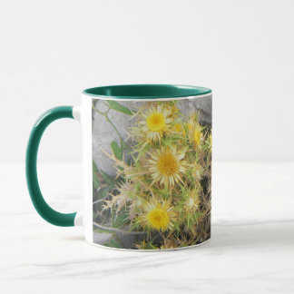 Thorny Mediterranean Flower Mug