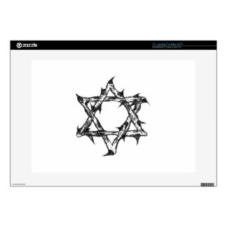 "Thorny Star Zazzle.png Decal For 15"" Laptop"