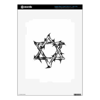 Thorny Star Zazzle.png iPad 3 Decal