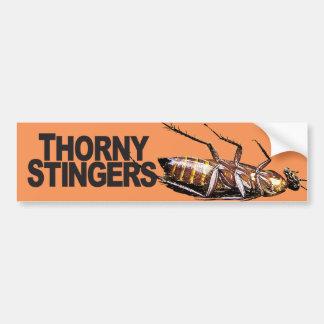 Thorny Stingers -  Bumper Sticker