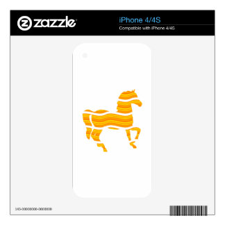 thoroughbred decals for the iPhone 4S