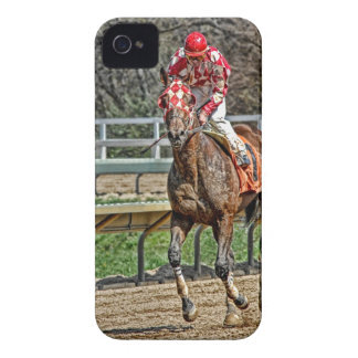 Thoroughbred Gallop Back iPhone 4 Cover