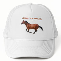 Thoroughbred Gallop Hat