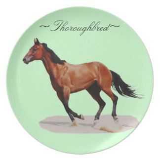 Thoroughbred Galloping Plate