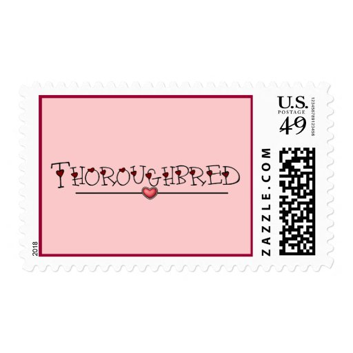 Thoroughbred Hearts Stamp