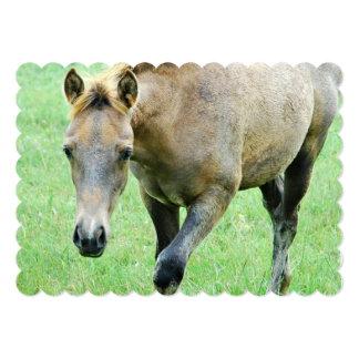 Thoroughbred Horse 5x7 Paper Invitation Card