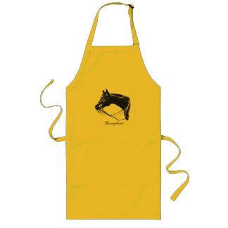 Thoroughbred horse apron