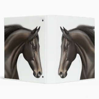 Thoroughbred Horse Avery Binder