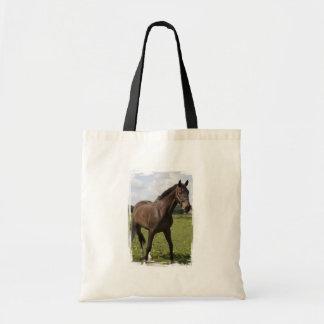 Thoroughbred Horse Budget Tote Bag