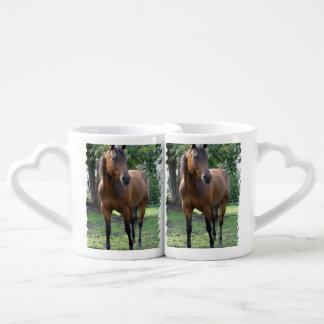 Thoroughbred Horse Couples Mug