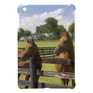 Thoroughbred horse farm in Marion County, iPad Mini Cover