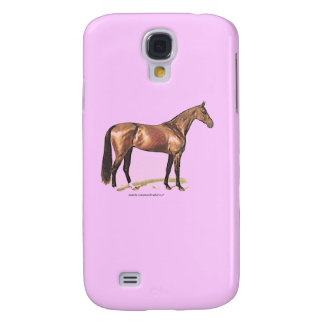 Thoroughbred Horse Galaxy S4 Cover