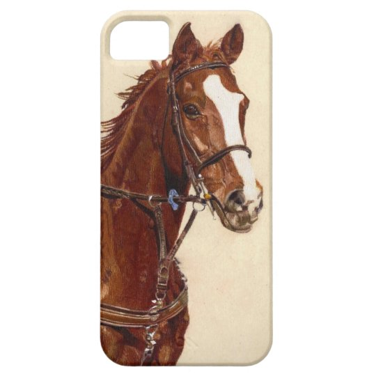Thoroughbred Horse iPhone 5 Barely There Case