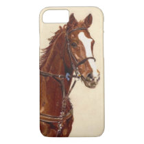 Thoroughbred Horse iPhone 7 case Barely There Case