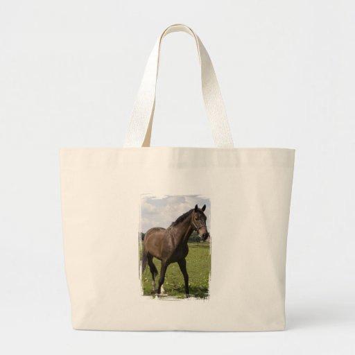 Thoroughbred Horse Jumbo Tote Bag
