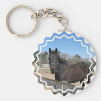 Thoroughbred Horse Keychain