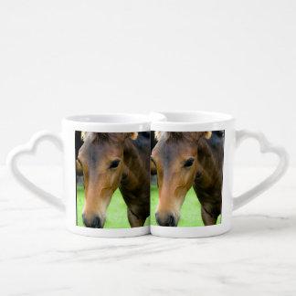 Thoroughbred Horse Lovers Mug Set