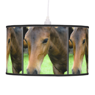Thoroughbred Horse Pendant Lamps
