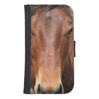 Thoroughbred Horse Galaxy S4 Wallets