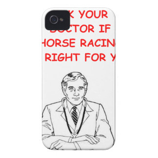 thoroughbred horse racing Case-Mate iPhone 4 cases