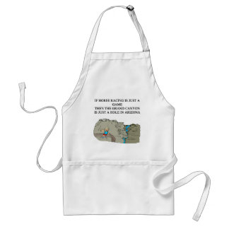 thoroughbred horse racing design aprons