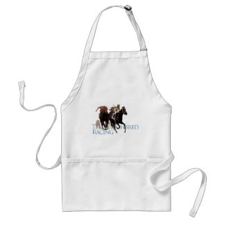 Thoroughbred Horse Racing Gifts Adult Apron