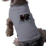 Thoroughbred Horse Racing Gifts Doggie Tshirt