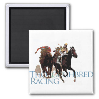 Thoroughbred Horse Racing Gifts Magnet
