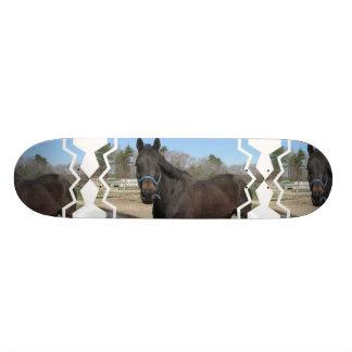 Thoroughbred Horse Skateboard