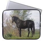 Thoroughbred Horse Standing Laptop Computer Sleeves
