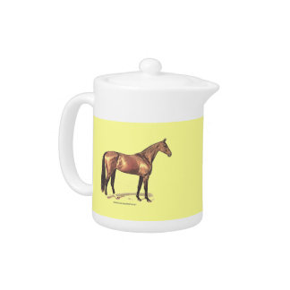 Thoroughbred Horse Teapot