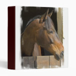 Thoroughbred Horses Binder