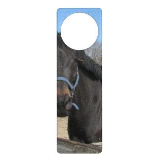 Thoroughbred Horses Door Hangers
