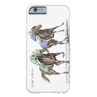 Thoroughbred Horses Racing Barely There iPhone 6 Case