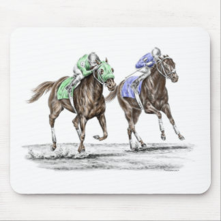 Thoroughbred Horses Racing Mouse Pad